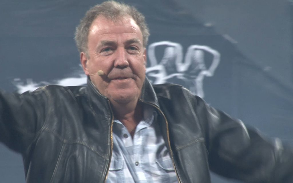 A still from our work with Top Gear Live on their live event