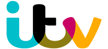 A logo of ITV, a client of Astery